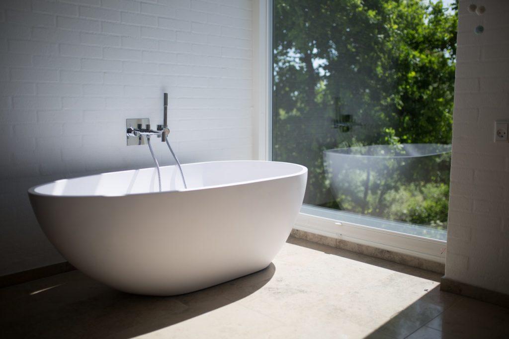 Moving of Bath Tub
